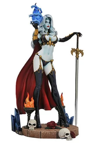 "Lady Death Femme Fatales 9"" Statue by Diamond"
