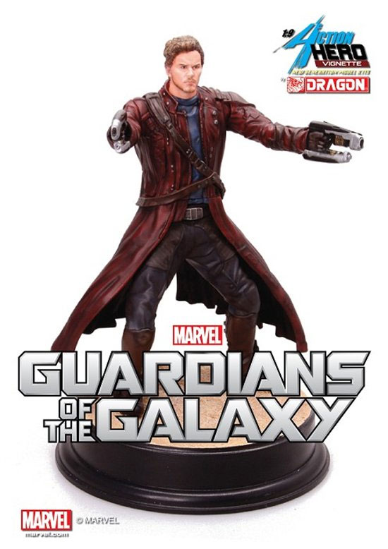 Guardians of the Galaxy Star Lord 1/9 Scale Statue with Bonus Head