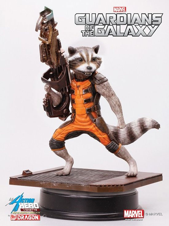 Guardians of the Galaxy Rocket Raccoon 1/9 Scale Statue