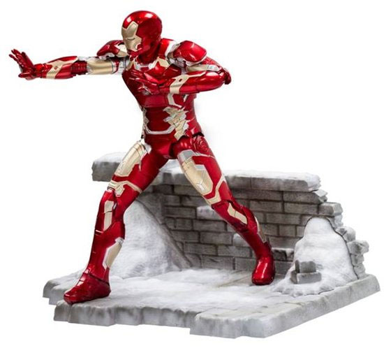 Avengers Age Of Ultron Iron Man Mark 43 Action Hero Vignette