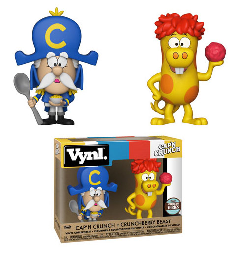 Cap'N Crunch & Crunchberry Beast AD Icons Vinyl Figure Set
