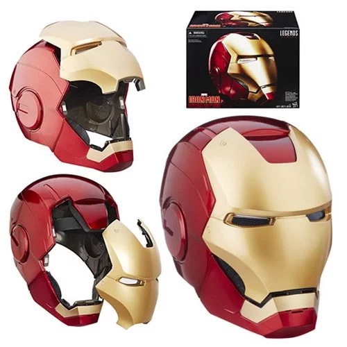 Iron Man Marvel Legends Electronic Helmet Prop Replica