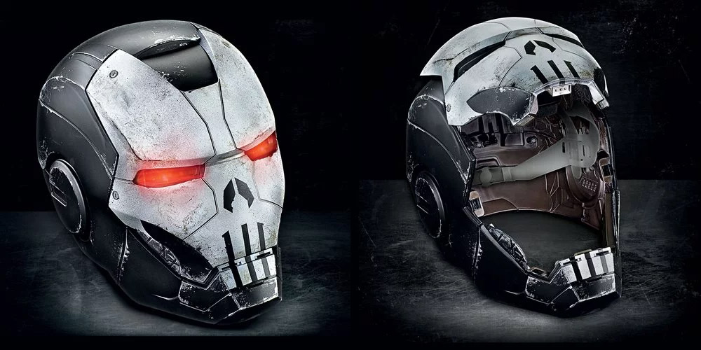 Punisher War Machine Helmet Marvel Legends Prop Replica - Click Image to Close