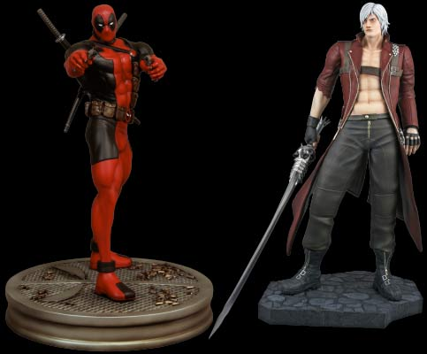 Marvel vs Capcom 3: 1:4 Scale Dante vs Deadpool