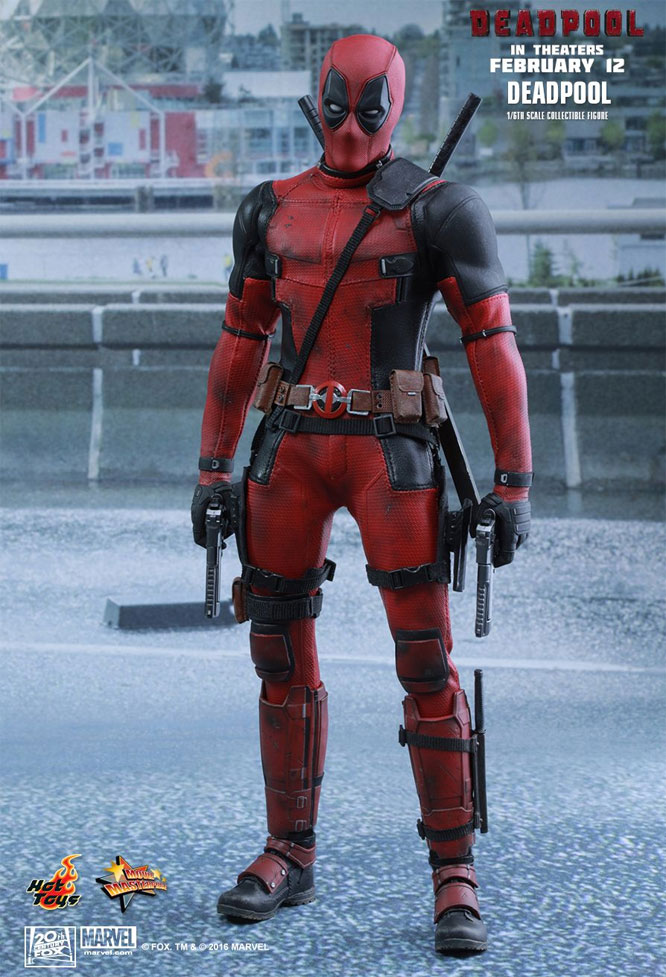 Deadpool 1/6 Scale collectible Figure by Hot Toys