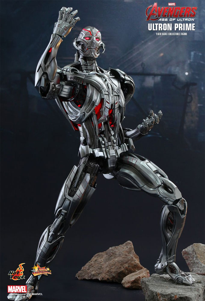 Avengers Age of Ultron Ultron Prime 1/6 Scale Figure by Hot Toys