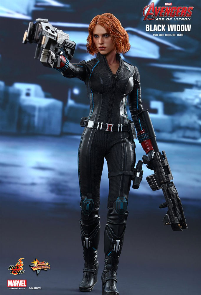 Avengers Age Of Ultron Black Widow 1/6 Scale Figure by Hot Toys