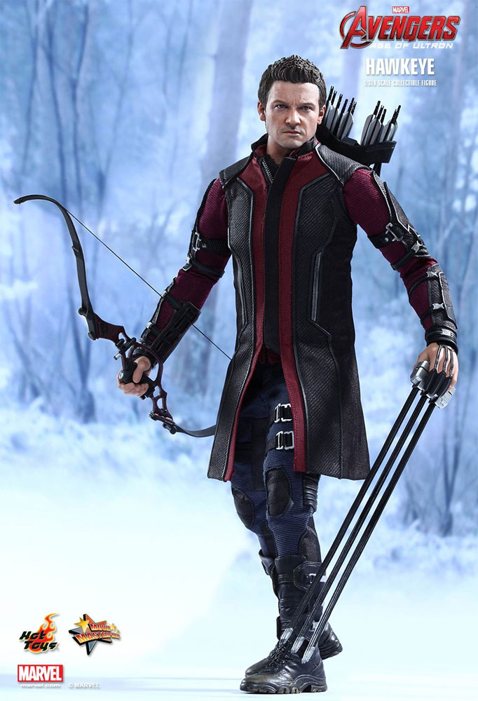 Avengers Age Of Ultron Hawkeye 1/6 Scale Figure by Hot Toys