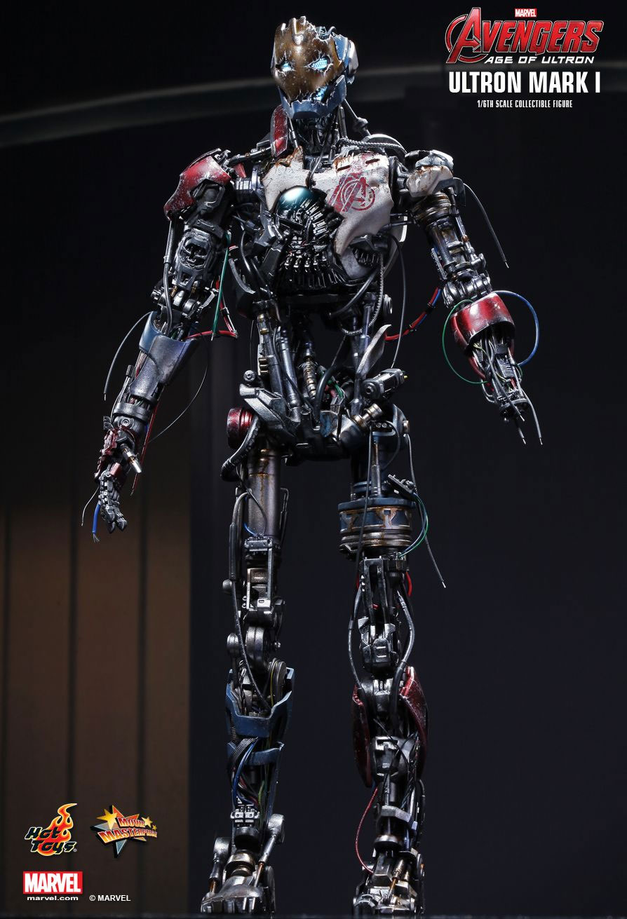 Avengers Age Of Ultron Ultron Mark I 1/6 Scale Figure by Hot Toys