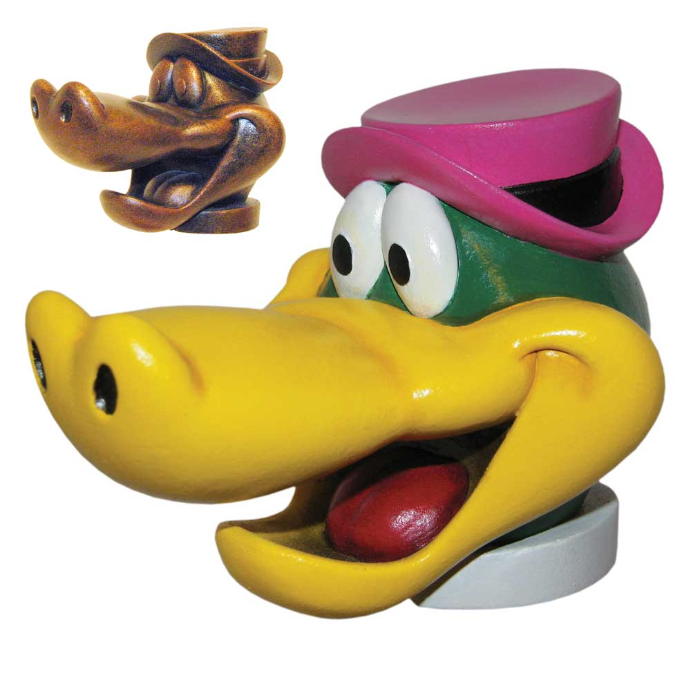 Wally Gator Head Shift Knob Model Kit