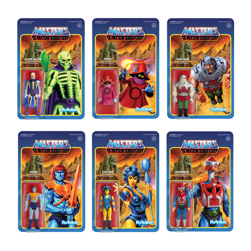 Masters Of The Universe Series 4 Set of 6 Action Figures