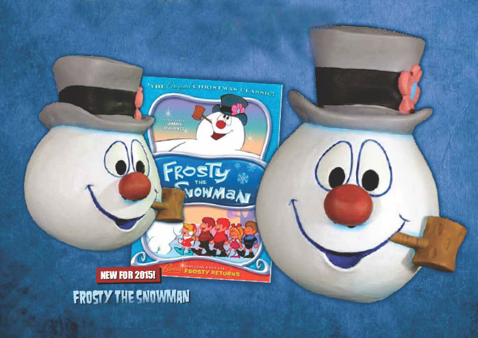 Frosty The Snowman Latex Halloween Mask