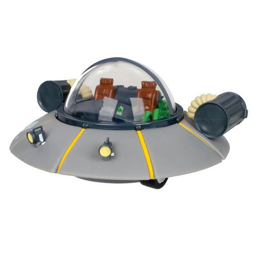 Rick and Morty Rick's Space Ship Coin Bank