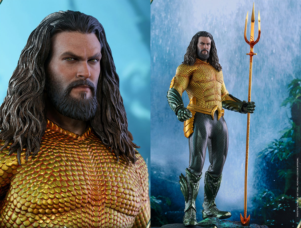 Aquaman 2018 Movie Masterpiece Series 1/6 Scale Figure by Hot Toys
