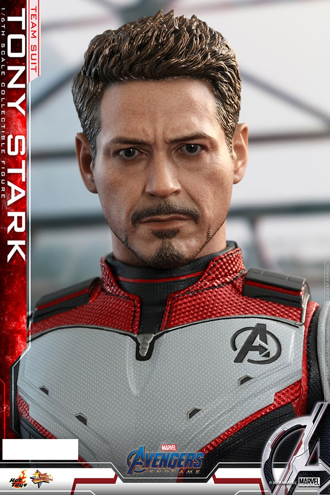 Avengers Tony Stark Team Suit 1/6 Scale Figure by Hot Toys