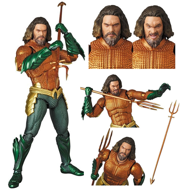 Aquaman 2018 MAFEX Figure by Medicom Japan