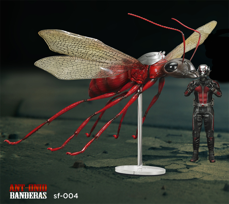Ant Man Ant-onio Banderas 1/6 Scale Figure by Special Figure (Red Version)