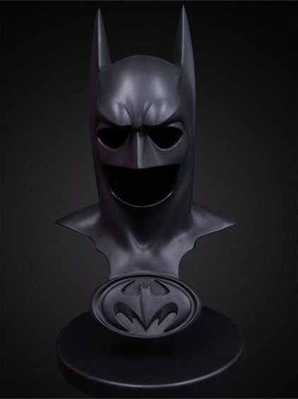 Batman & Robin Batman Cowl George Clooney Panther Cowl Prop Replica