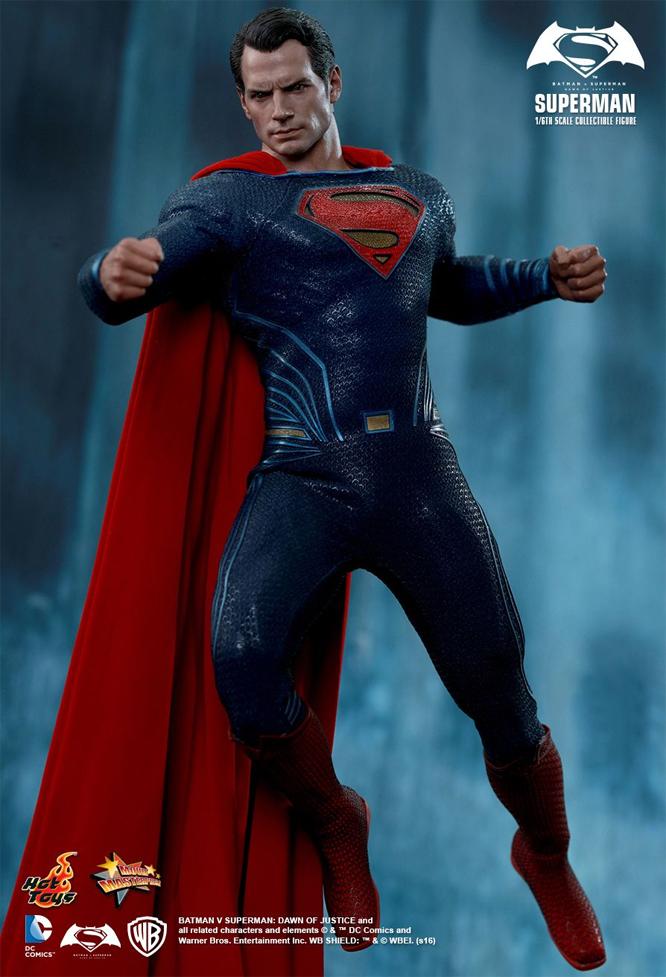 Batman Vs Superman Superman 1 6 Scale Figure By Hot Toys