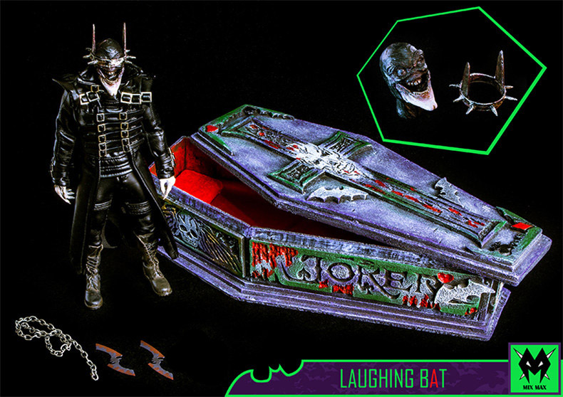 Laughing Bat Joker Deluxe Edition 1/6 Scale Figure by MX Toys