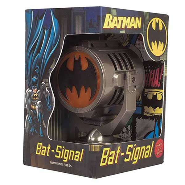 Batman Metal Die Cast Bat Signal with 48 Page Book