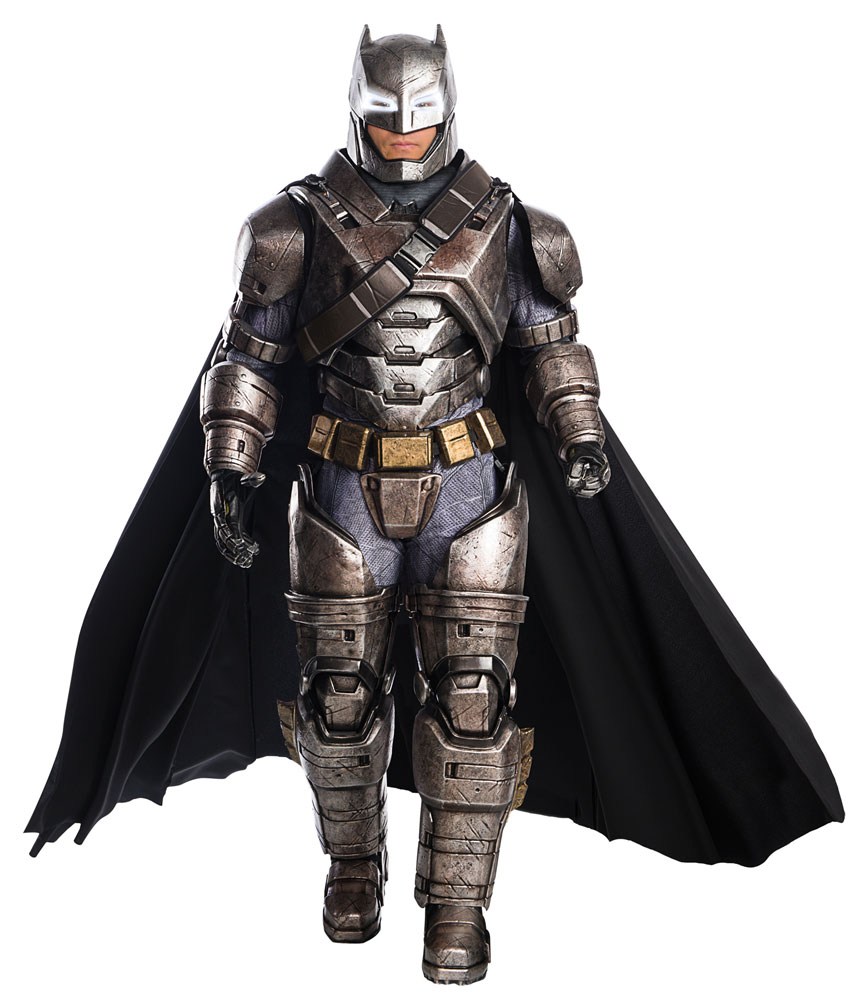 Batman Vs. Superman Dawn of Justice Armored Batman Supreme Edition Costume XL Size
