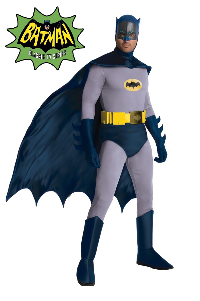 Batman 1966 Classic Adam West Batman Grand Heritage Costume SPECIAL ORDER