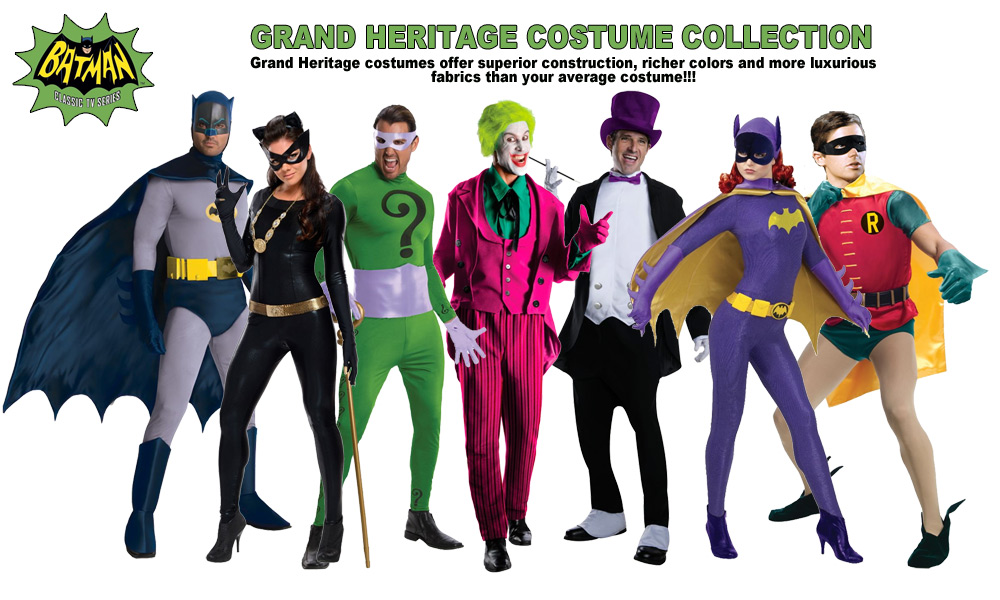 Batman 1966 Classic Frank Gorshin Riddler Grand Heritage Costume SPECIAL ORDER