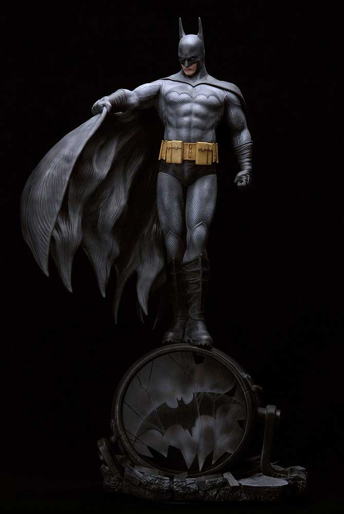 "Batman 1/6 Scale 21"" Tall Resin Statue by Luis Royo"