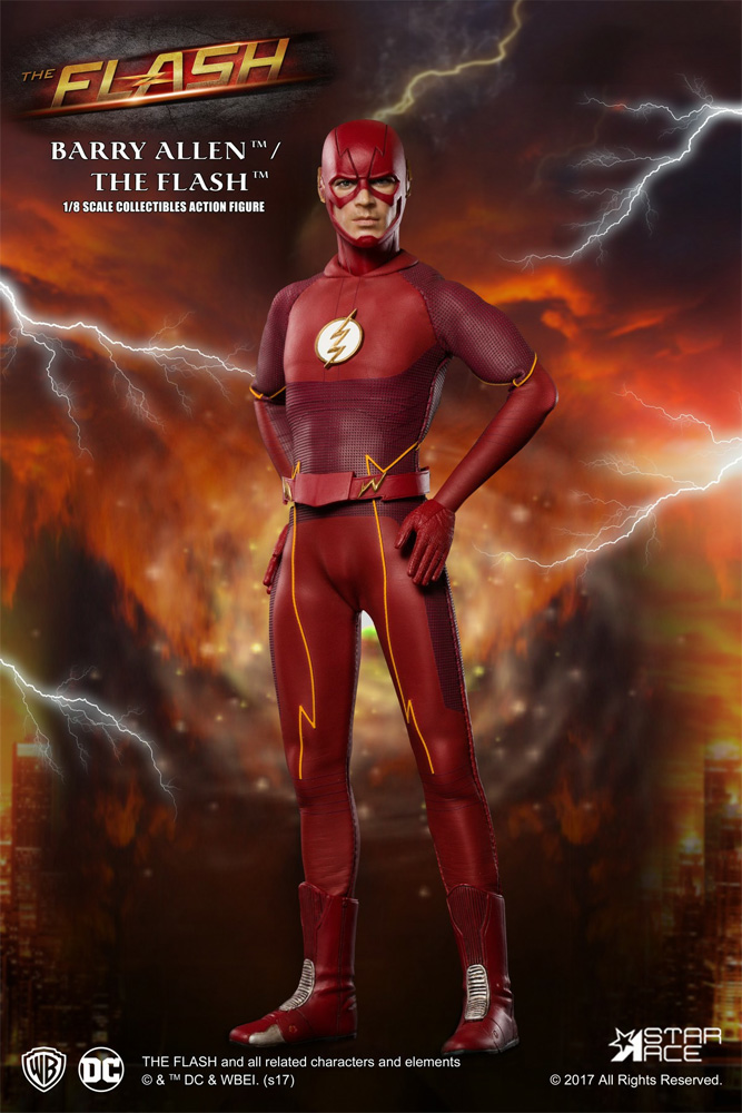 Flash Barry Allen 1/8 Scale Figure by Star Ace
