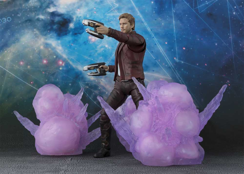 Guardians Of The Galaxy Star Lord Explosion Bandai S.H.Figuarts Figure