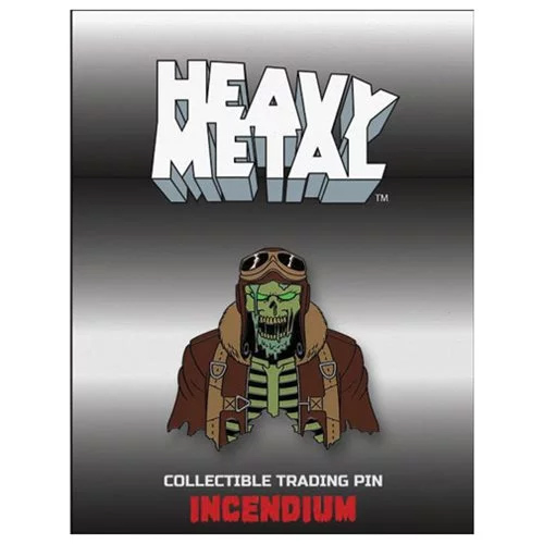 Heavy Metal The Movie 1981 Nelson B-17 Bomber Lapel Pin