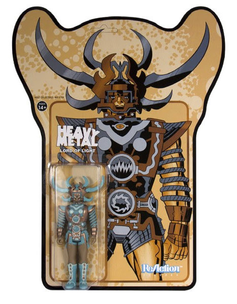 Heavy Metal Lord of Light ReAction Action Figure Metalic Edition