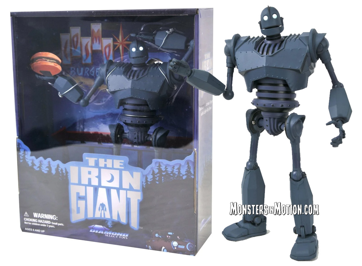 Iron Giant Deluxe Action Figure Box Set San Diego Comic-Con 2020 Exclusive LIMITED EDITION