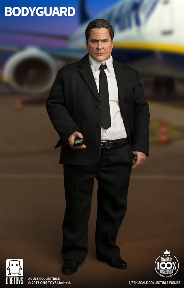 Personal Bodyguard Happy Hogan 1/6 Scale Figure by Onetoys