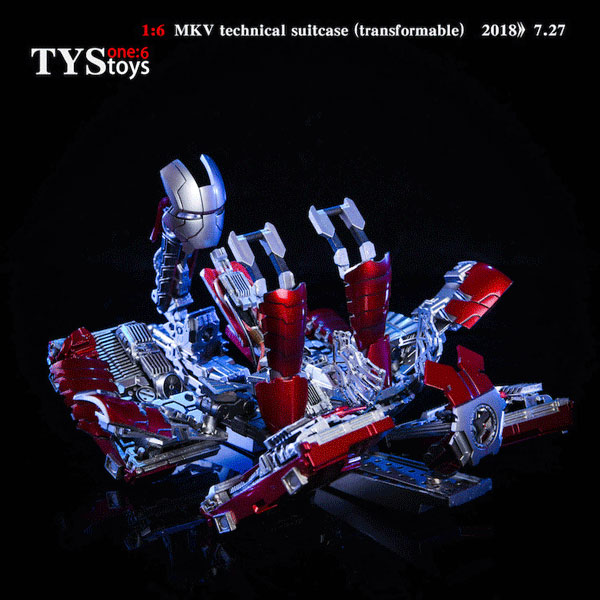 MK V Transformable Technical Suitcase 1/6 Scale Accessory
