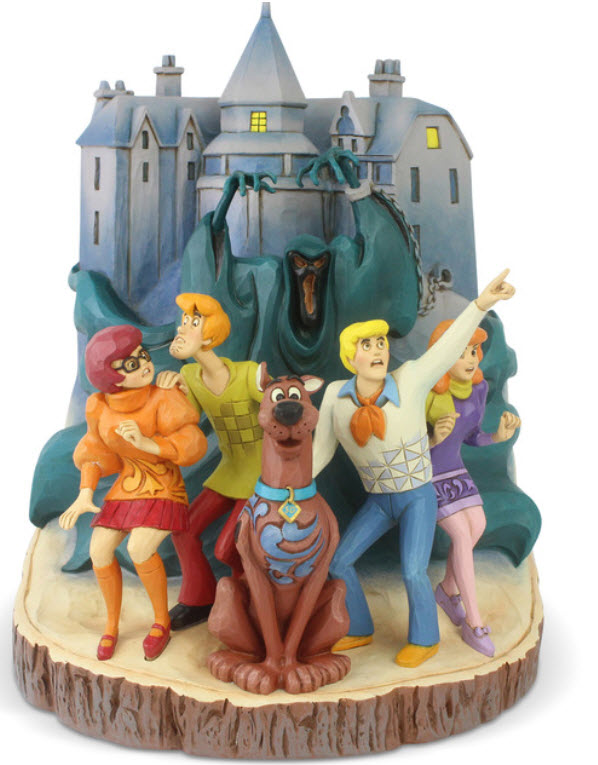 Scooby-Doo Scooby Gang Carved by Heart Statue by Jim Shore