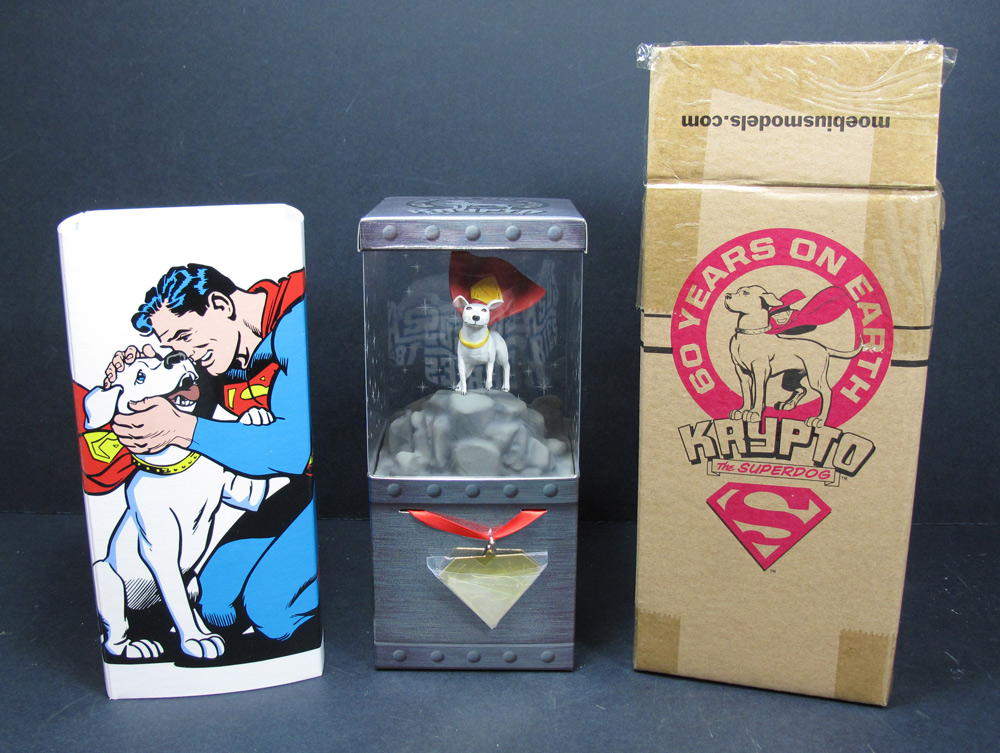 "Superman Krypto the Superdog 3"" Tall figure with Base SDCC 2015 Exclusive"