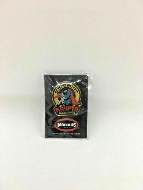 SDCC 2018 Exclusive Moebius Models 60 Years on Earth Krypto the Superdog Enamel Pin
