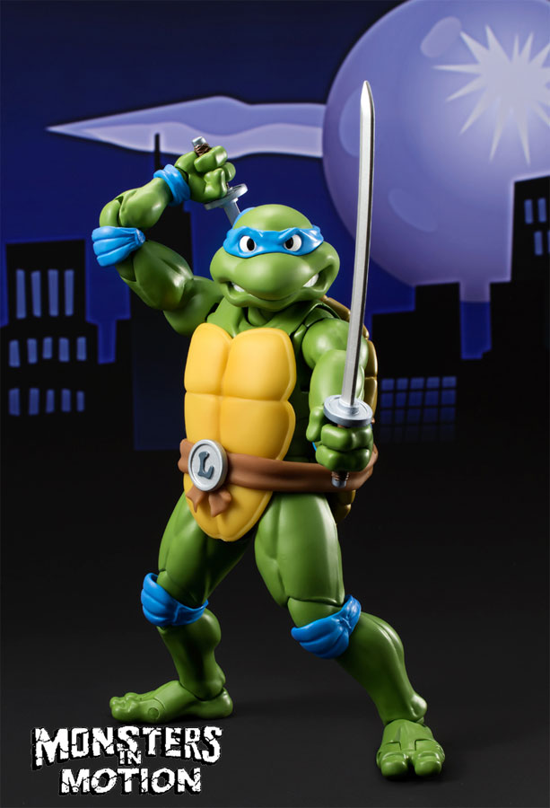 Teenage Mutant Ninja Turtles Leonardo Figure by S.H. Figurearts