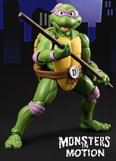 Teenage Mutant Ninja Turtles Donatello Figure by S.H. Figurearts