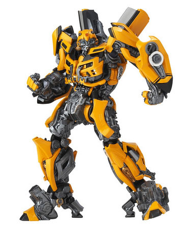 Transformers Bumble Bee Legacy of Revoltech Figure by Kaiyodo