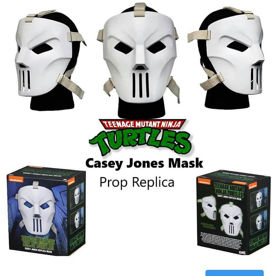 Teenage Mutant Ninja Turtles 1990 Movie Casey Jones Mask Prop Replica