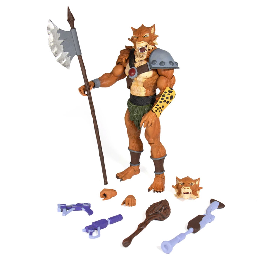 Thundercats Jackalman Ultimate Figure