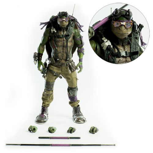 Teenage Mutant Ninja Turtles: Out of the Shadows Donatello 1/6 Scale Action Figure