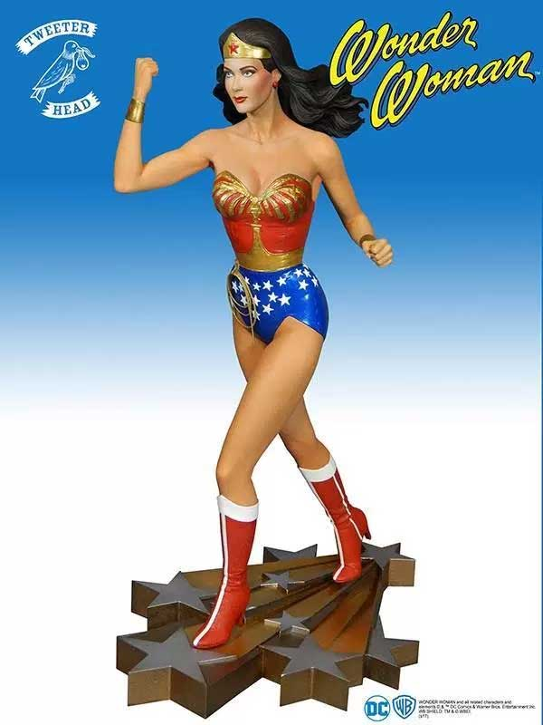 Wonder Woman Lynda Carter Maquette Statue by Tweeterhead