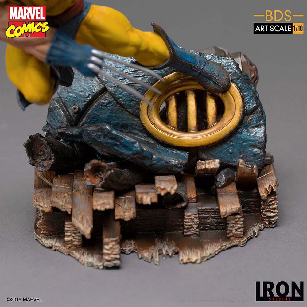 X-Men Wolverine 1/10 Scale Art Scale Statue by Iron Studios