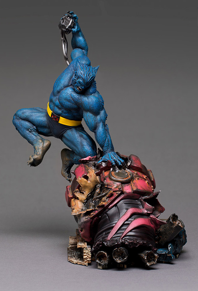 X-Men Beast 1/10 Scale Art Scale Statue by Iron Studios