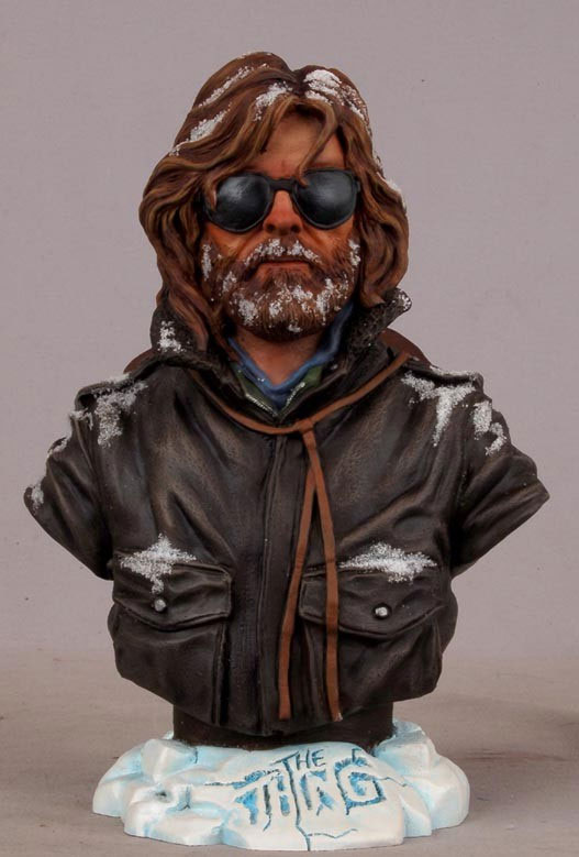 "Thing, The 1982 7"" Tall McReady Bust Kurt Russell"