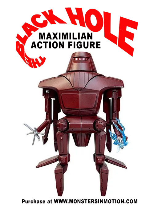 Black Hole Maximilian Action Figure Disney Classic Series